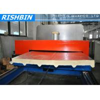 Flat PU Sandwich Panel Machinery with GI or Aluminum Sheets in UAE , Dubai