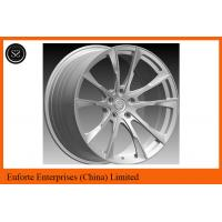"Quality Susha wheels-Double 5Spoke 1pieceForged Wheels With Black Machined Face 18'' 19''  20'' 21"" 22"" for sale"