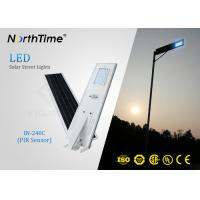 Wholesale PIR Sensor Smart Solar Street Light All In One , Solar Powered LED Street Light With Camera from china suppliers