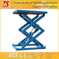 Wholesale scissor lift Factory price 3.5m stationary pallet from china suppliers