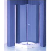 Wholesale Zinc Alloy Handle Square Shower Enclosure 800 X 800 White Frame Finished from china suppliers