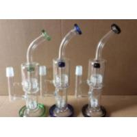 Buy cheap Affordable Price Hand Blown Functional Borosilicate Glass Bong Glass Water Pipe from wholesalers