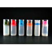 Wholesale 100ml PP Airless Cosmetic Bottles in Pantone Color from china suppliers