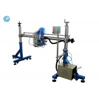 Gantry One Heads Automated Label Applicator For Cardboard Box / Production Line