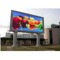 Wholesale P8 RGB Advertising LED Video Screens dust - proof for Outdoor 48kg 1 / 4 scan from china suppliers