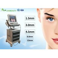 Wholesale Beauty Salon HIFU Beauty Machine For Face Lifting / Wrinkle Removal / Body Slimming from china suppliers