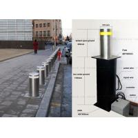 Wholesale LED Light Full Automatic Retractable Bollards Remote Control Bollards 304 Stainless Steel from china suppliers