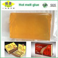 Wholesale Light Yellow Transparen PSA Hot Melt Adhesive , High Stickness EVA Hot Melt Glue from china suppliers