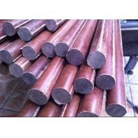 Wholesale Good Insulation Cotton / Paper Phenolic Rod Smooth Length 1 - 3m from china suppliers