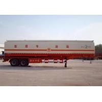 Wholesale Aluminium Steel Tank Truck Trailer 45000 Liters For Oil Tanker Semi Trailer from china suppliers