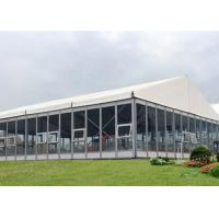 Wholesale Heavy Duty 10 X 20 Marquee Party Tent White Color With Hard Glass Sidewalls from china suppliers