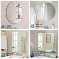Wholesale Clear silver mirror factory transparent bathroom mirror 4mm 5mm 6mm from china suppliers