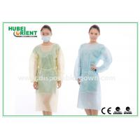 Wholesale Hospital Disposable Isolation Gowns , Elastic Cuff disposable medical gowns from china suppliers