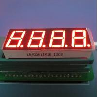 Wholesale Super Red 7-Segment LED Display for Temperature Control 4-digit 0.56-inch from china suppliers