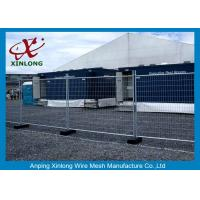 Wholesale Flexible Green Temporary Fencing Panels / Temporary Security Fence Panels Durable from china suppliers