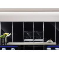 Quality High Gloss Kitchen Cabinets Contemporary Design European Style Pure Painting Color for sale