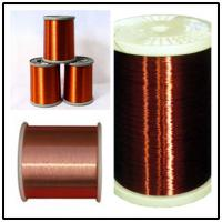 Quality High Thermal UEW Magnet Round Enamel Insulated Wire For Winding / Transformer for sale
