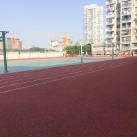 Wholesale Soft Rubber Sports Court Flooring , Rubber Gym Floor Weather Resistance from china suppliers