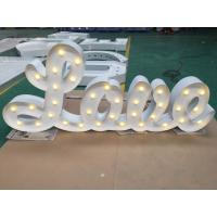 Wholesale Dimmable Light Up LED Letter Lights , Love Letter Lights For Wedding Party from china suppliers