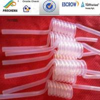 Wholesale FEP Spring tube, FEP serpentuator used as Corrosive medium pipe from china suppliers
