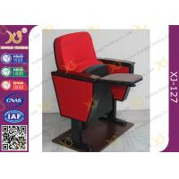 Wholesale Lecture Hall Folding Theater Seats Small Back Fixed Auditorium Chairs With Writing Pad from china suppliers