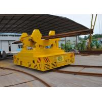 Wholesale 30t battery powered ladle transfer trolley for hot metal handling in steel plant from china suppliers