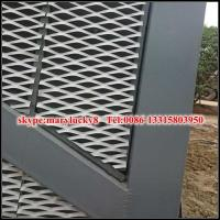 Quality External Expanded Mesh facade/Expanded Metal mesh facade panel for sale