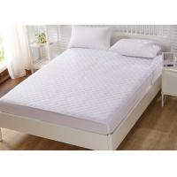 Wholesale Luxury Double Foam Mattress Protector Polyester Anti Bacterial from china suppliers