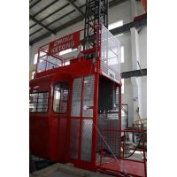 Wholesale Double Cage Construction Material Hoist Lifting Equipment 36 M / Min 60HZ Ketong SC200 200TD from china suppliers