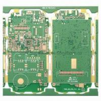 Wholesale Multilayer PCB with 4 Layers, 0.8 ±0.1mm Finishing Thickness from china suppliers