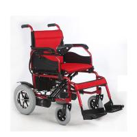 Quality Footrest Detachable Portable Folding Electric Wheelchair , Handicap Power Chairs for sale