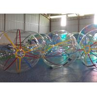 Wholesale 1.0 mm PVC Inflatable Walk On Water Ball Soccer Ball 2m Diameter from china suppliers
