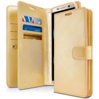 Quality PU Cell Phone Leather Cases Double Sided Wallet TPU Shockproof Cover for Samsung S8 for sale