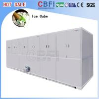 Wholesale Stainless Steel Ice Cube Machine 10 Tons , Ice Maker Machine With LG Electrical Components from china suppliers