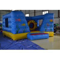 Wholesale Blue Inflatable Sport Games PVC Tarpaulin With Fireproof For Kids from china suppliers