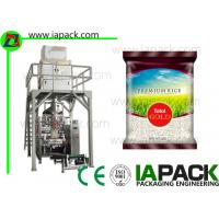 Wholesale 5KG Potato Chips Snack Bean Granule rice packaging machine from china suppliers
