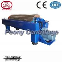 Wholesale Automatic Horizontal Decanter Centrifuges Calcium Carbonate Dewatering Machine from china suppliers