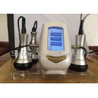 Wholesale Golden 3 Handles RF Ultrasonic Cavitation Slimmng Beauty Machine CE from china suppliers