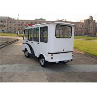 Quality Security Police Electric Patrol Vehicle With Closed Door For 8 Person for sale