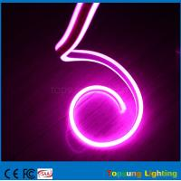 Wholesale best selling 24V double side pink led neon flexible rope with high quality from china suppliers