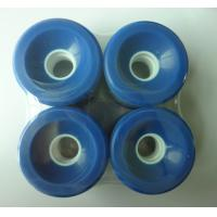 Wholesale 60*45 mm Skateboarding Wheels Blue Quad  High Rebound Pu Perfusion from china suppliers