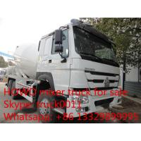Wholesale SINO TRUK HOWO 6*4 RHD 8m3 cement mixer truck for sale, new  Euro 2 diesel 336HP 8m3 HOWO concrete mixer truck for sale from china suppliers