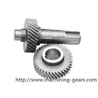 Wholesale Industry Carbon Steel Transmission Gear Shaft Wheel Sand Blasting For Oil Pump from china suppliers