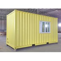 Wholesale 20ft modular container house container living house from china suppliers