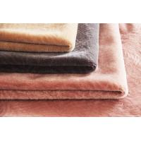 Wholesale Soft and smooth 100% wool knitting sheep shearling fabric for fashion garment from china suppliers