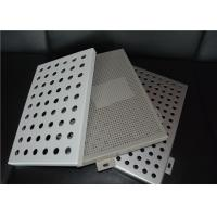 Wholesale Aluminum Round Hole Architectural Perforated Metal Panel / Perforated Metal Sheet from china suppliers
