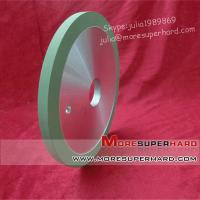 Wholesale 1A1 flat shaped vitrified/ceramic diamond grinding wheel for Natural diamond from china suppliers