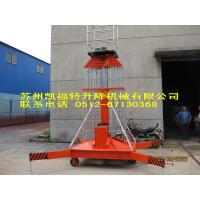 Wholesale 12m Height Hydraulic Work Platform Single Mast Lift For Warehouses / Maintenance from china suppliers
