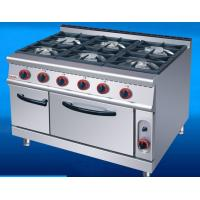 Wholesale US-RQ-6 Commercial Kitchen Equipments Gas Range 6 Burner Gas Oven from china suppliers