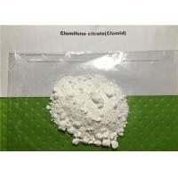 Wholesale Bodybuilding Anti Estrogen Steroids Clomifene Citrate Powder Clomid 50-41-9 from china suppliers